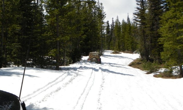 Memorial Day 4×4 Snow Run at the Ahtanum State Forest 31