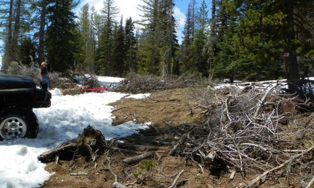 Memorial Day 4×4 Snow Run at the Ahtanum State Forest 39