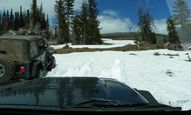 Memorial Day 4×4 Snow Run at the Ahtanum State Forest 48