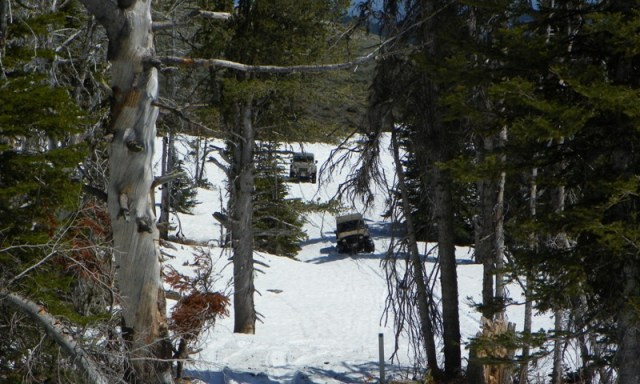 Memorial Day 4×4 Snow Run at the Ahtanum State Forest 52