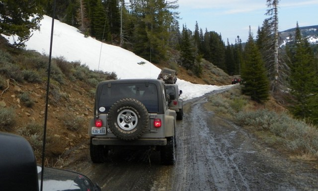 Memorial Day 4×4 Snow Run at the Ahtanum State Forest 70