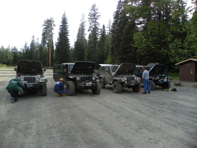 Memorial Day 4×4 Snow Run at the Ahtanum State Forest 80