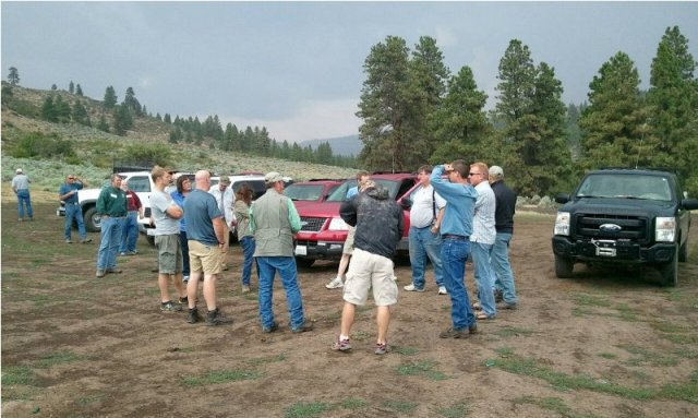 DNR/WDFW Naneum Ridge Field Trip 20
