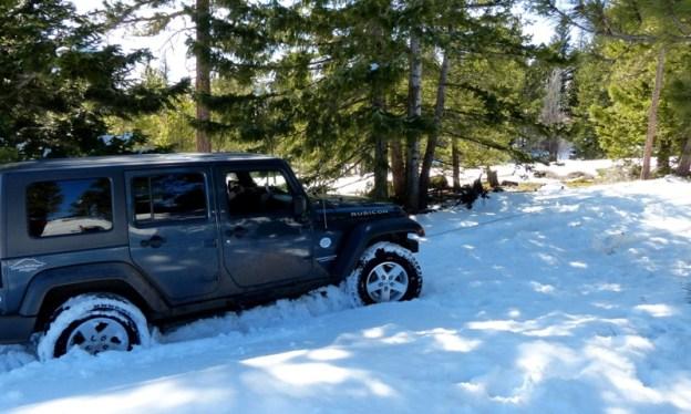 Ahtanum Snow Wheeling