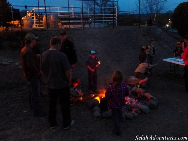 Selah Cub Scout Pack 276 Campfire