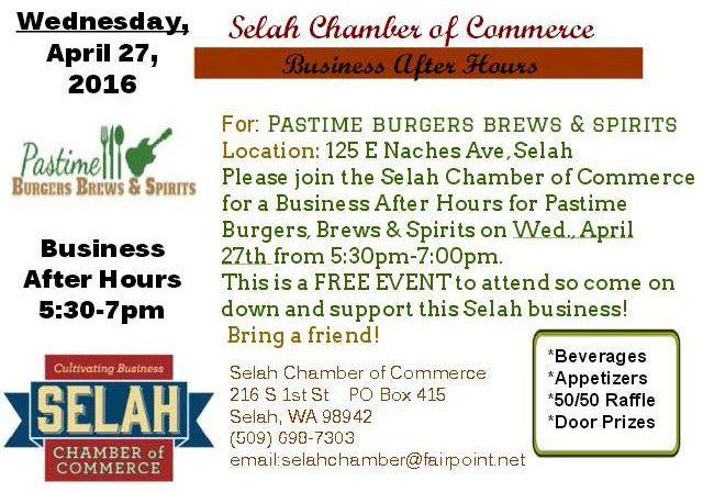 Selah Chamber of Commerce Business After Hours