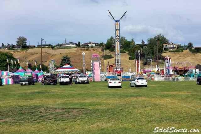 Selah Community Days Carnival Rides