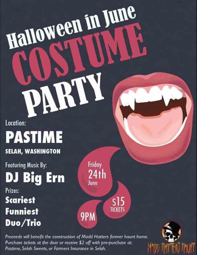 Halloween in June Costume Party