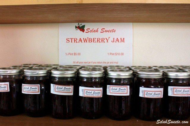 Selah Sweets Strawberry Jam