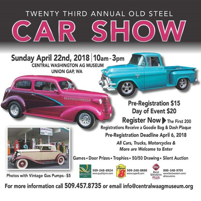 23rd Annual Old Steel Car Show