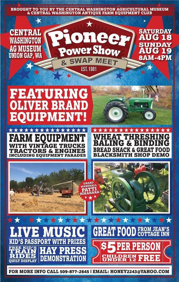 Pioneer Power Show & Swap Meet