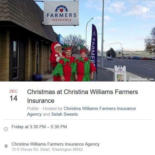 Christmas at Christina Williams Farmers