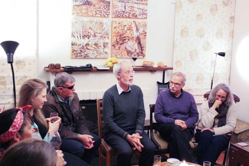Annemarie McLaren, Mike Smith, Tom Griffiths, Gregg and Debra