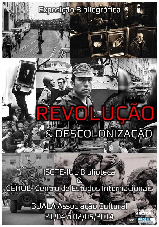 Cartaz Revolucao e Descolonizacao