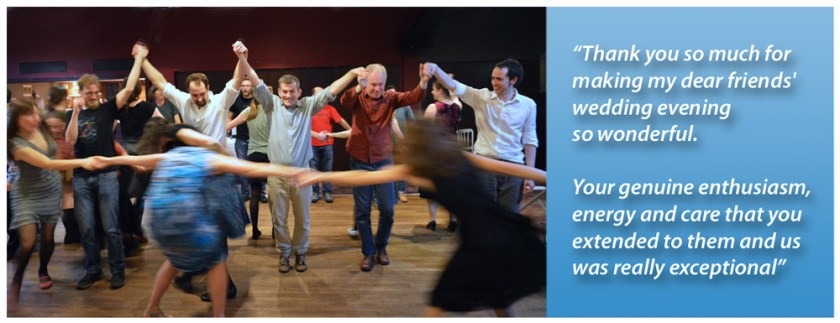 Ceilidh photo and testimonial