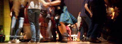 Ceilidh dancers