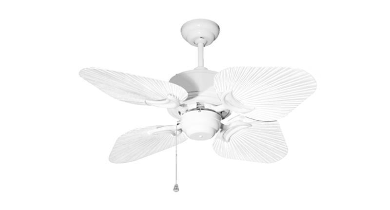 35 inch Bombay Pure White Ceiling Fan