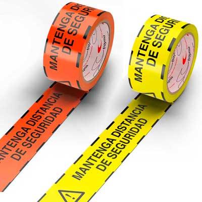 cinta distancia de seguridad