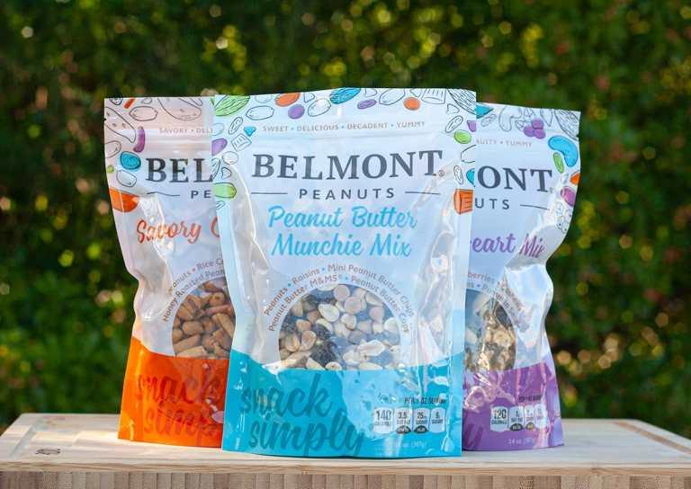 Belmont Trail Mix Packaging Design