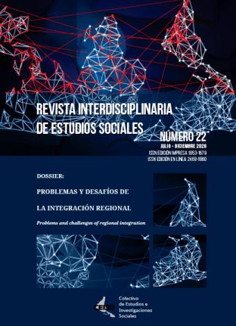 N° 22 (2021): Julio / Diciembre 2021 | Revista Interdisciplinaria de Estudios Sociales