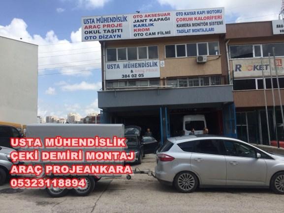 FORD ÇEKİ DEMİRİ+ARAÇ PROJE+ÇEKİ DEMİRİ TAKMA MONTAJI ANKARA 05323118894
