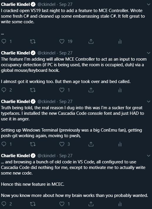 Coding Tweet Storm