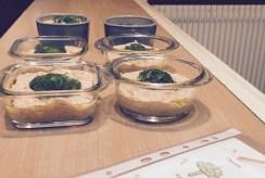 Clafoutis au brocoli prêts à enfourner