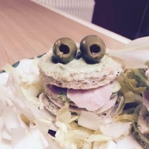 sandwich grenouille