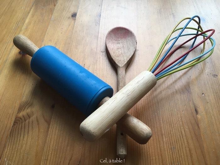 matériel de base en cuisine
