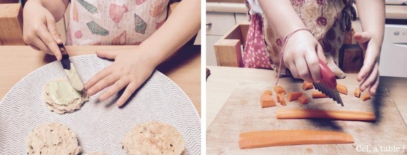 utilisation des couteaux par les enfants