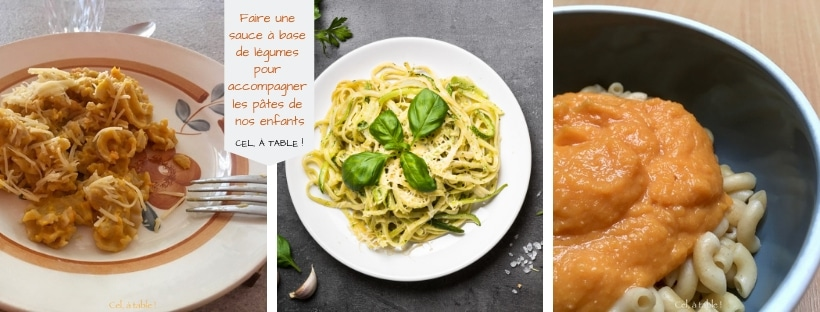 affiche sauce légumes pour pâtes