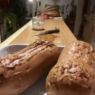 Courge butternut rôtie entière ... à utiliser ensuite pour de multiples plats