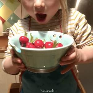 manger les radis