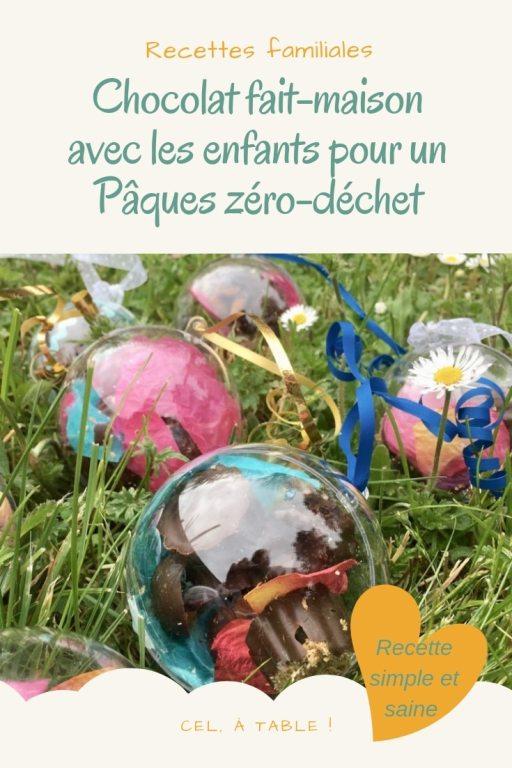 Faire son chocolat maison en mode zéro-déchet avec les enfants