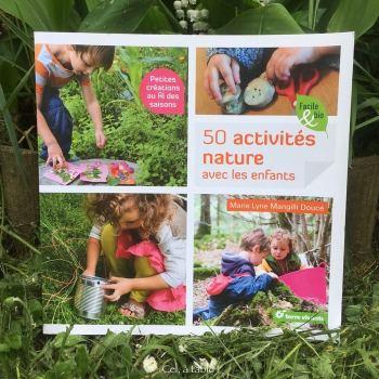 livre d'activités nature avec les enfants