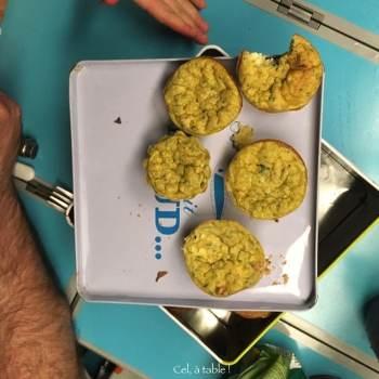 muffins à la courgettes emportés en pique-nique