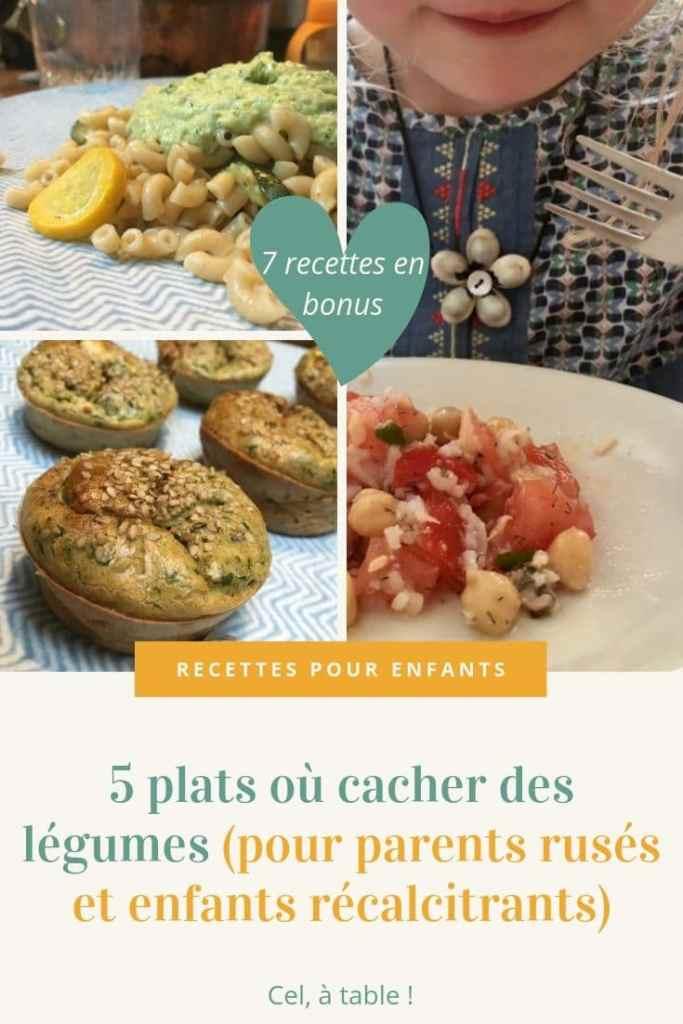 affiche de l'article : 5 plats où cacher des légumes (pour parents rusés et enfants récalcitrants)