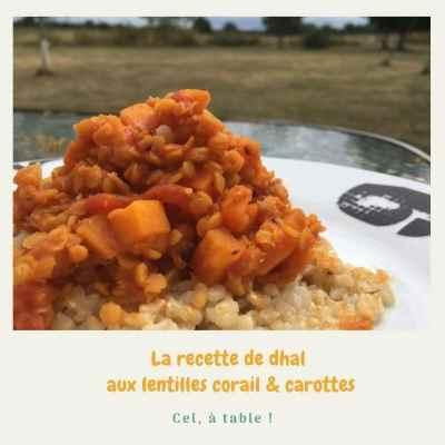recette de dhal aux lentilles corail et carottes