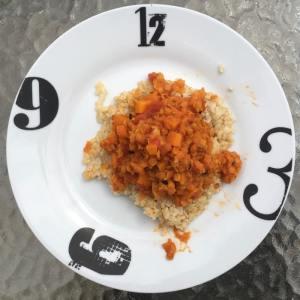 dhal lentilles corail et carottes