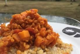 dhal lentille corail et carottes