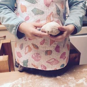 replier les bords de la pâte