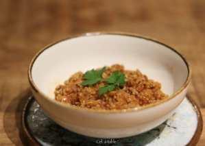 recette vide-placard : mijoté lentille-quinoa
