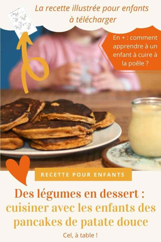 Des légumes en dessert : cuisiner des pancakes de patate douce