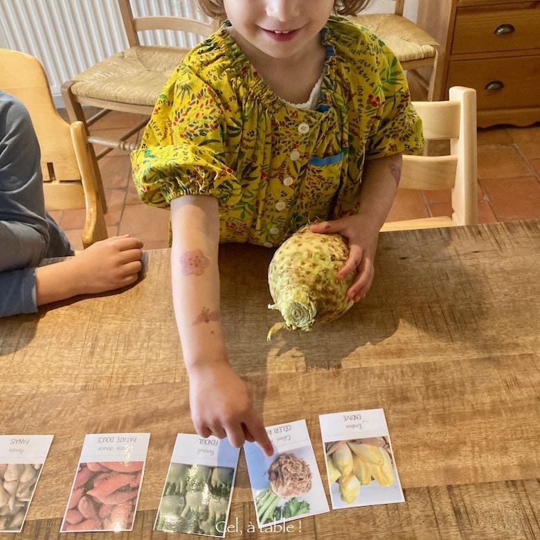 jeux devinette légumes