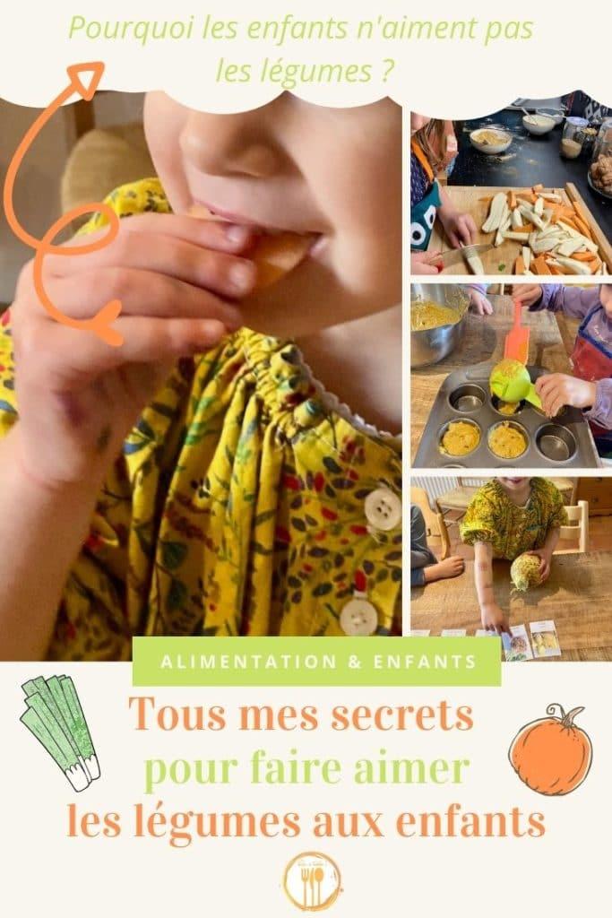 Tous mes secrets pour faire aimer les légumes aux enfants