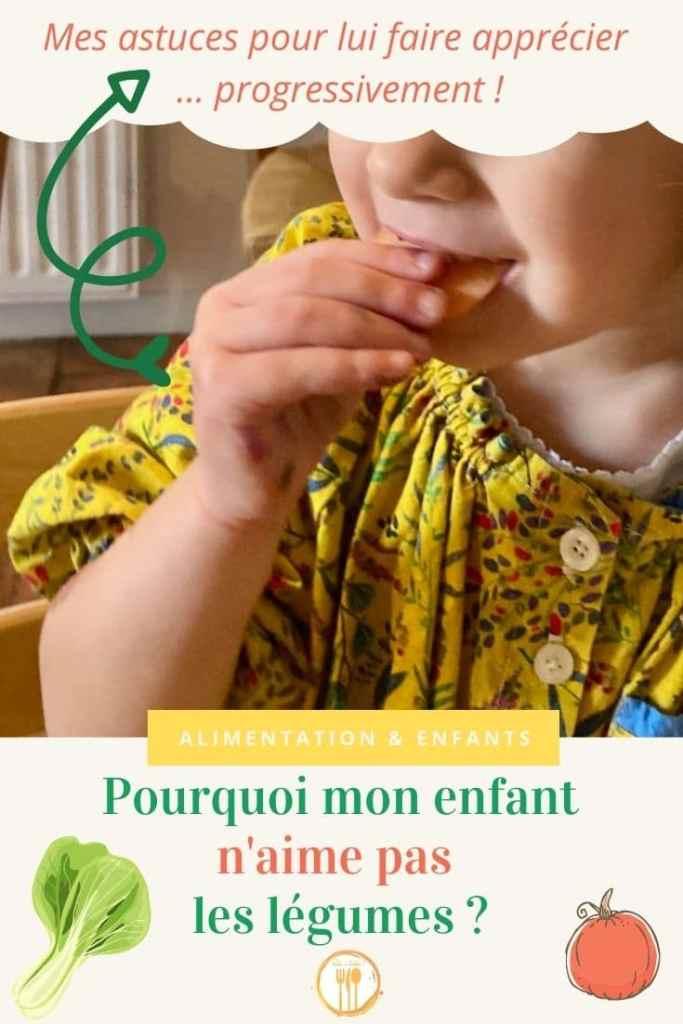 Pourquoi mon enfant n'aime pas les légumes ? Et comment lui faire apprécier progressivement ?