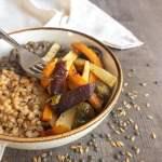 Une recette de légumes simple et facilement déclinable : les légumes rôtis !