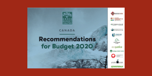Recommendations for Budget 2020