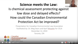 Where Science Meets the Law – Webinar