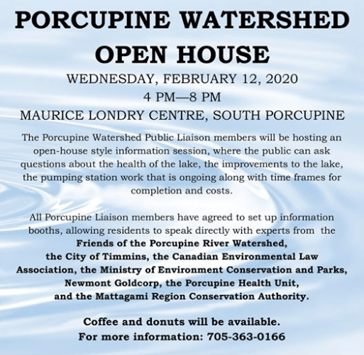 porcupine watershed event